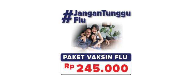 Promo Vaksin Flu